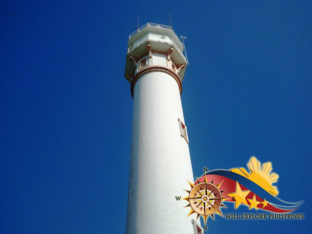Cape Bolinao Light House at Pangasinan Worms Eye View