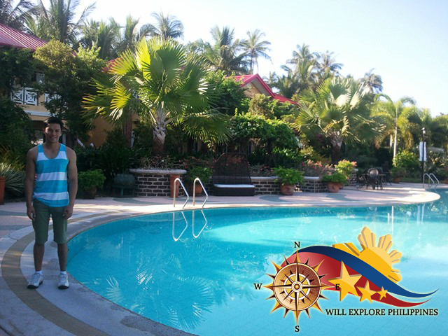 Will Garcia in Swimming Pool at Puerto Del Sol Bolinao Pangasinan 2