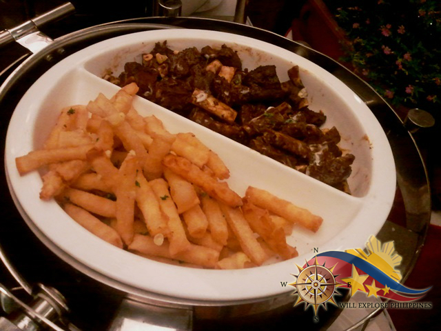 Chilli Cheese Sticks and Pork Back Ribs at Te Quiero Restaurant Microtel Baguio