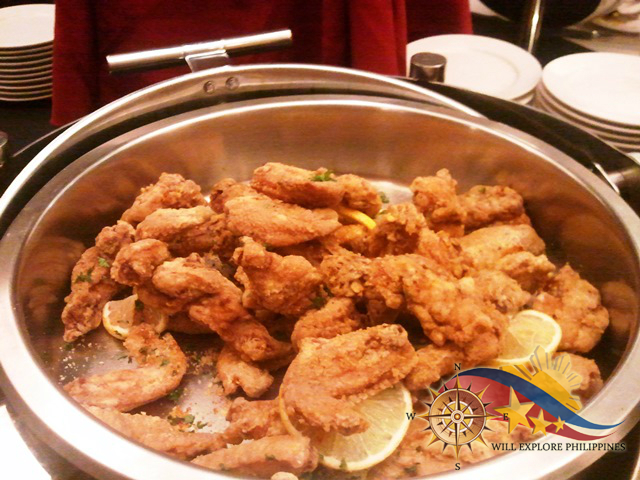 Fried Chicken at Te Quiero Restaurant Microtel Baguio