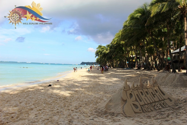 Boracay Beach Front Day View 3