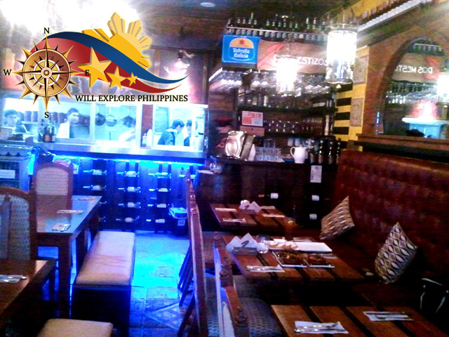 Dining-Area-at-Dos-Mestizos-Spanish-Restaurant-in-Angeles-City