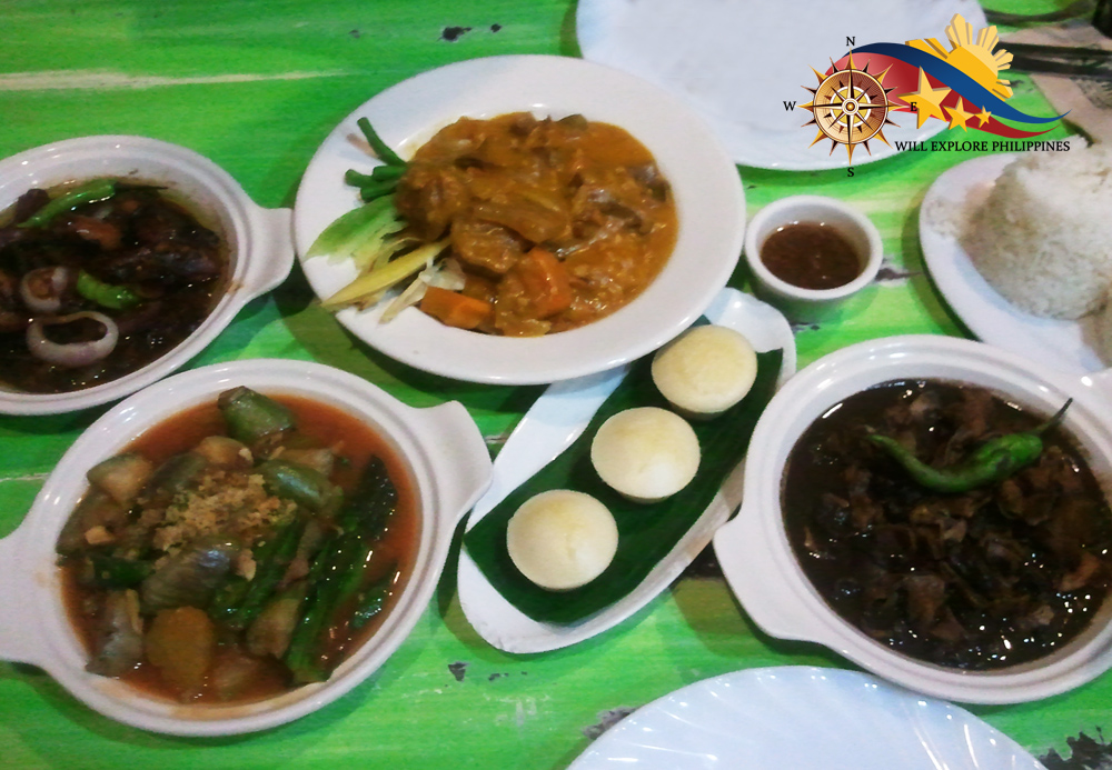 Hapag Vicentico's Restaurant Dishes