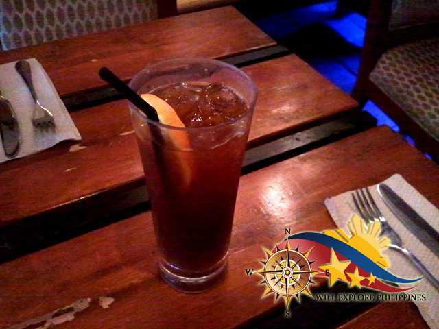 ouse-Blend-Iced-Tea-at-Dos-Mestizos-Spanish-Restaurant-in-Angeles-City.