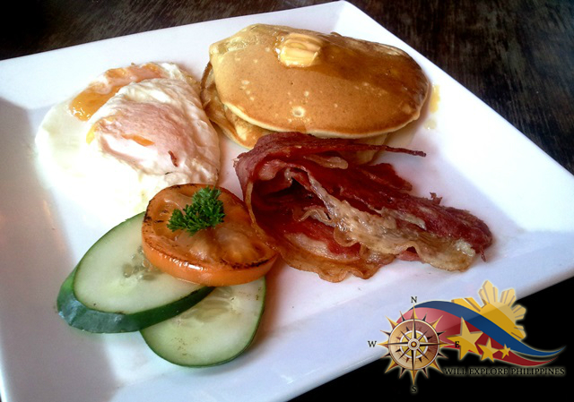 American Breakfast at Zola Restaurant and Cafe Baguio City