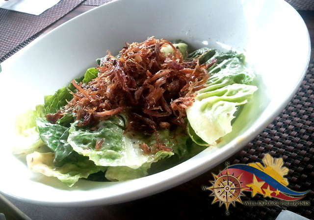 Caesar Salad with Shredded Duck Confit at Hill Station in Casa Vallejo Baguio City 2