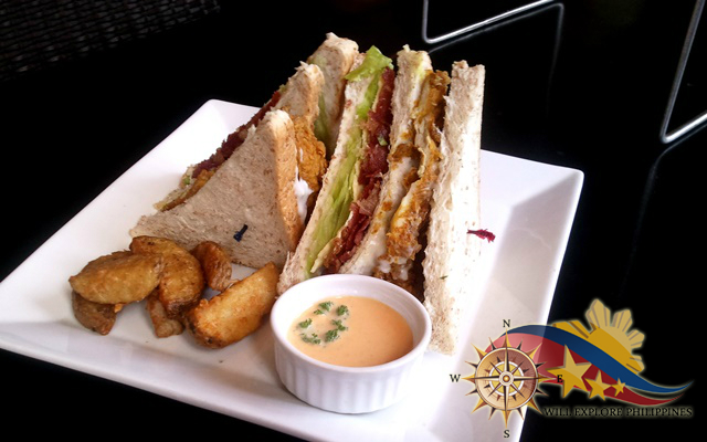 Chef's Special Sandwich at Zola Restaurant and Cafe Baguio City