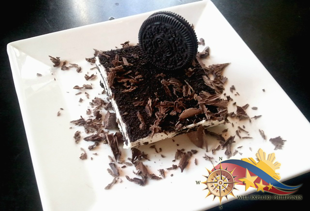 Cookies and Cream Dessert at Zola Restaurant and Cafe Baguio City