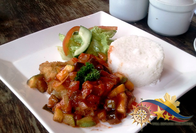 Cream Dory with Ratatouille at Zola Restaurant and Cafe Baguio City