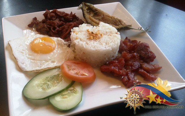 Filipino Breakfast at Zola Restaurant and Cafe Baguio City