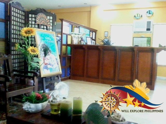Lobby and Front Desk at Puerto Del Sol Bolinao Pangasinan