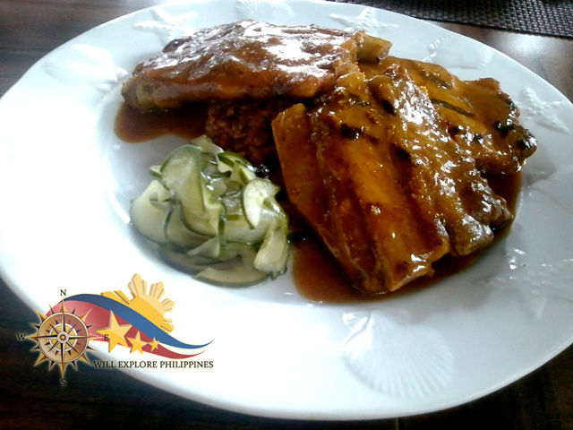 Moroccan Spiced Baby Back Ribs at Hill Station in Casa Vallejo Baguio City 1