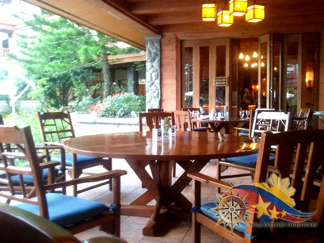 Le Chef  at The Manor Camp John Hay Baguio City