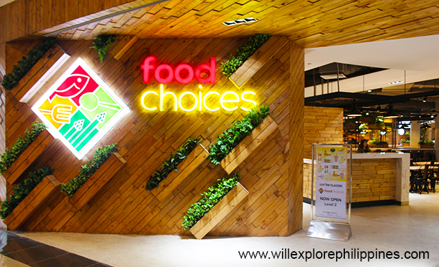 Marquee Mall Food Choices in Angeles City Pampanga