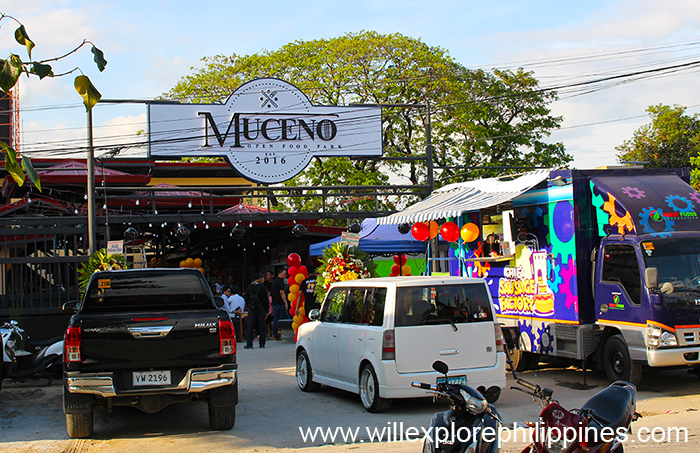 Muceno Food Park in Angeles Pampanga