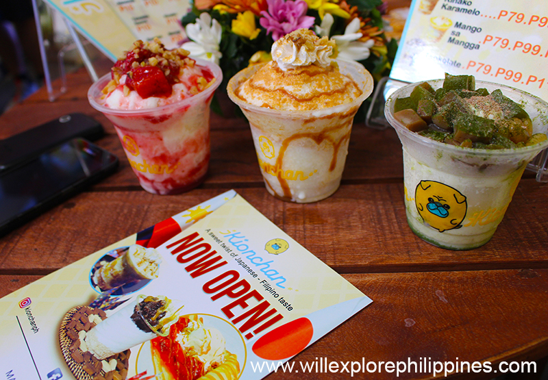 Kionchan Japanese-Filipino Dessert Shop Marquee Mall Pampanga