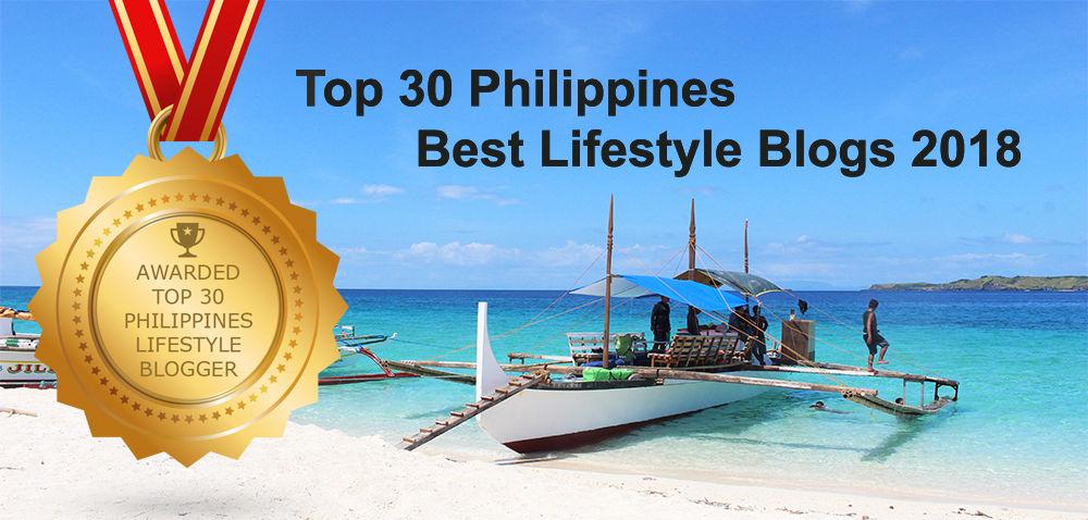 Will Explore Philippines Awarded as Top 30 Lifestyle Bloggers in the Philippines
