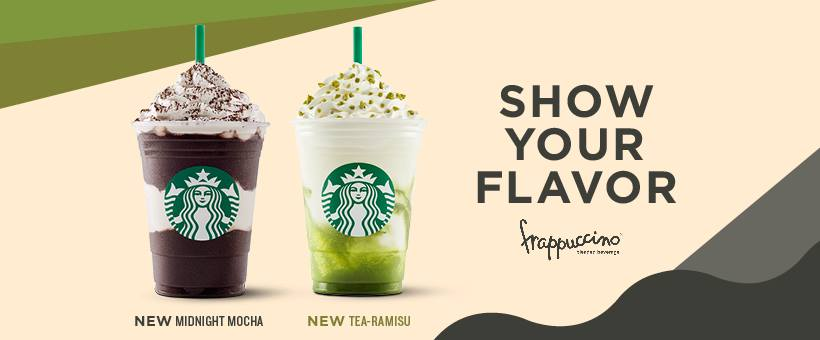 Starbucks New Summer Flavors: Tea-Ramisu and Midnight Mocha Frappuccino®