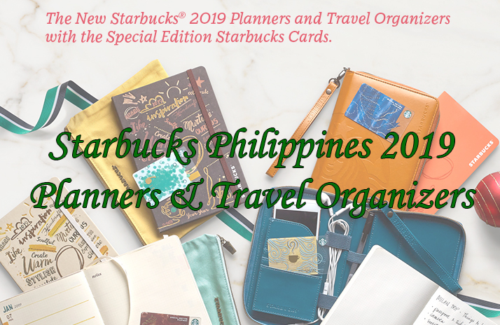 Starbucks Philippines 2019 Planners and Travel Organizers