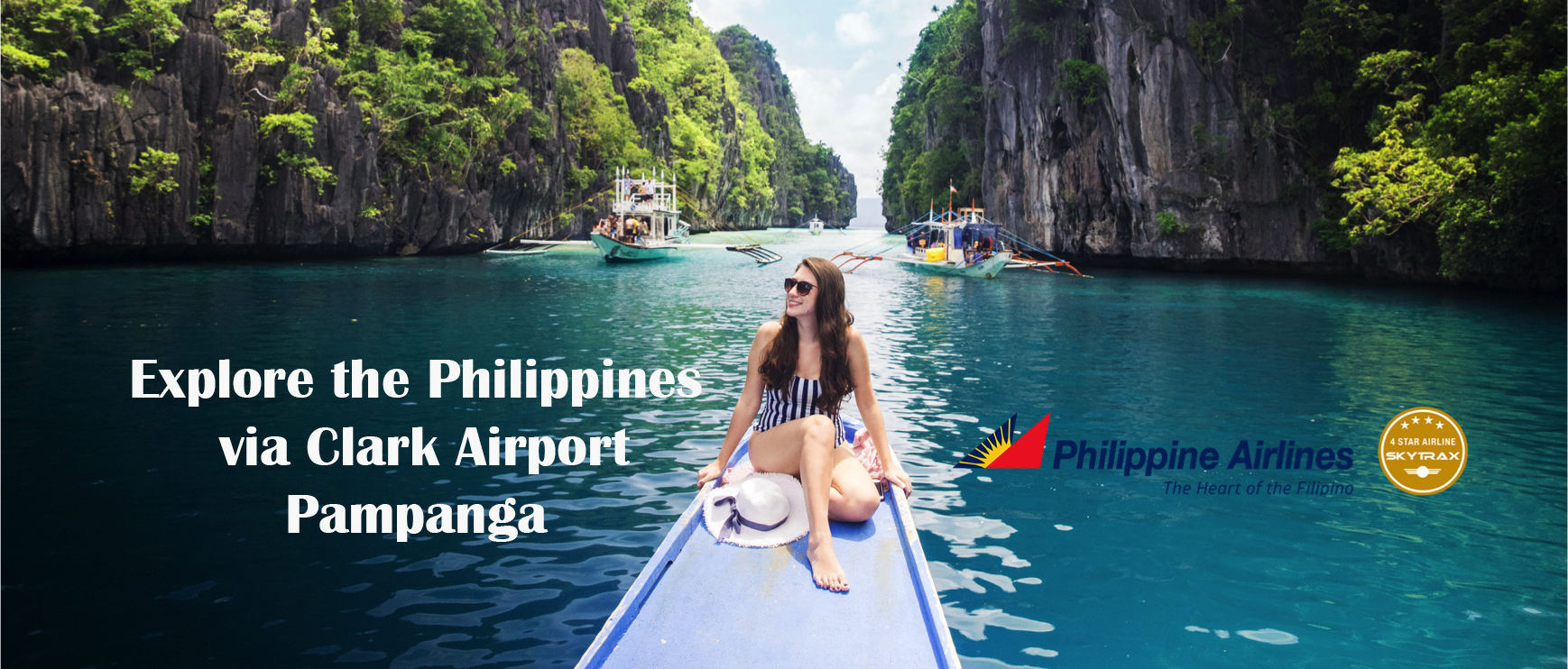 Philippine Airlines New routes from Clark to Palawan, Mindoro and Isabela