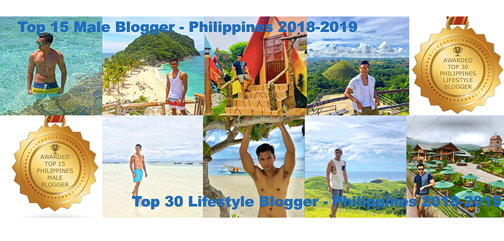 Will Explore Philippines Awarded as Top 30 Best Lifestyle Blog and Top 15 Male Blogger 2019