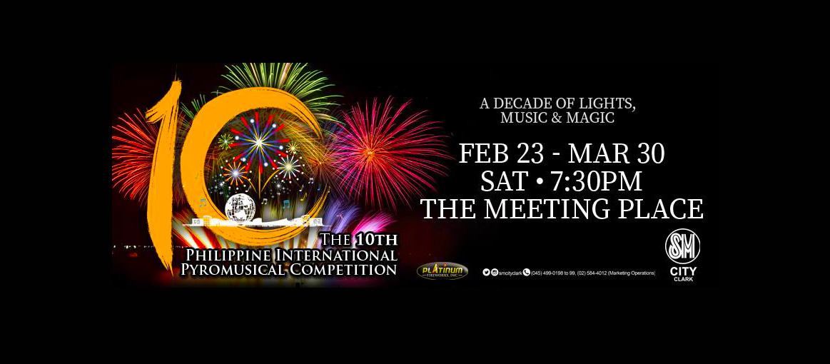 SM City Clark: Philippine International Pyromusical Competition 2019