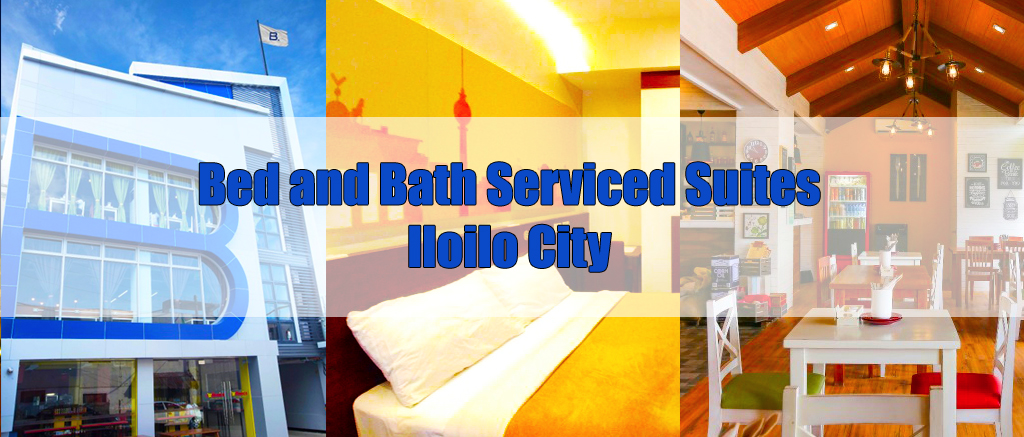 Iloilo City Hotel: Bed & Bath Serviced Suites at B Lifestyle Complex