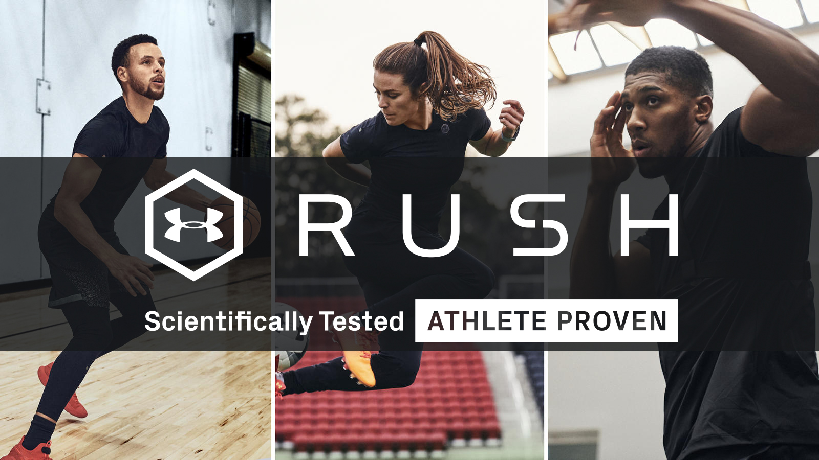 Train like Stephen Curry with Under Armour's Rush & Recovery