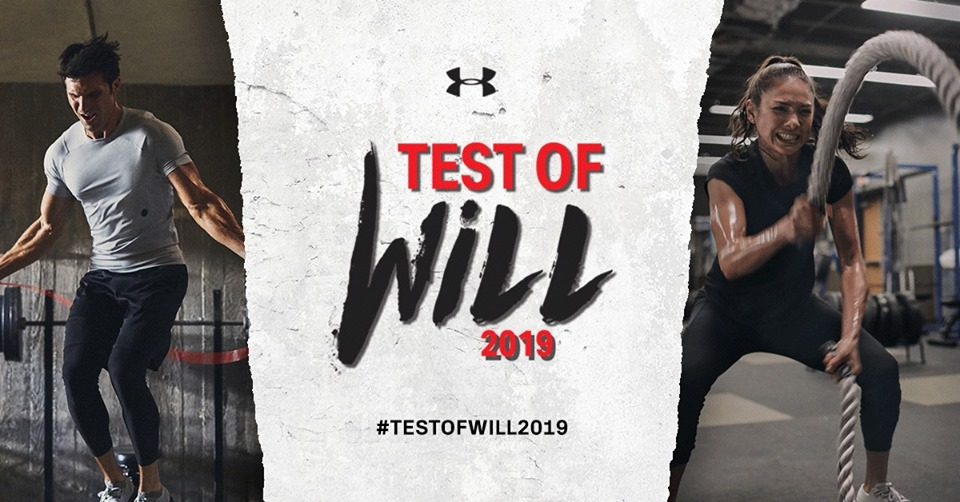 Under Armour: Test of Will – Urban Fitness Challenge 2019