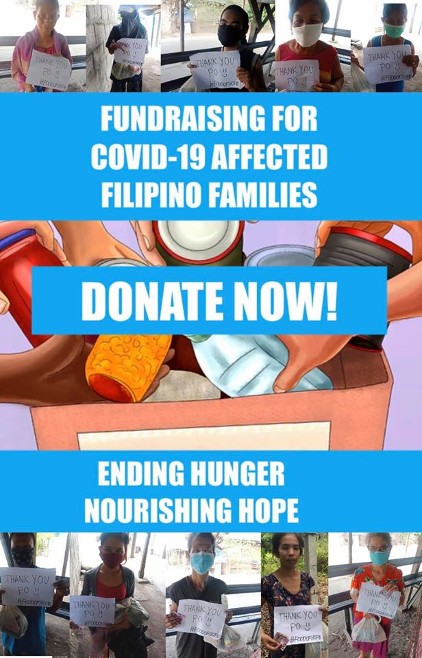 Food of Hope: FundRaising for COVID-19 Affected Families in the Philippines