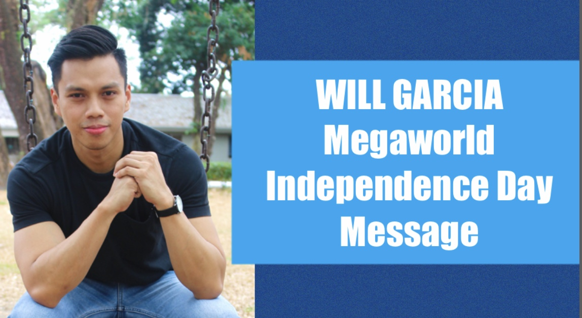 Pampanga Vloggers Will Garcia for Megaworld Lifestyle Malls Independence Day
